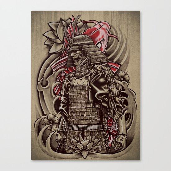 Samurai Koi Canvas Print
