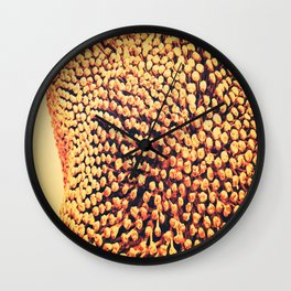 Oxidized Landscape Tangerine Wall Clock