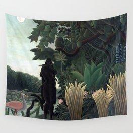 Henri Rousseau The Snake Charmer Wall Tapestry