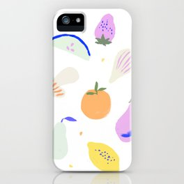 Fruits & Veggies iPhone Case