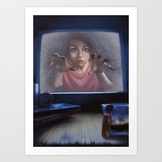 White Noise (Revised) Art Print