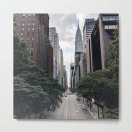 City stree Metal Print