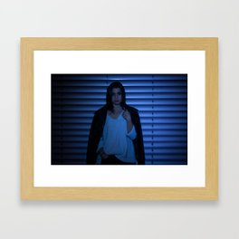 jean Framed Art Print