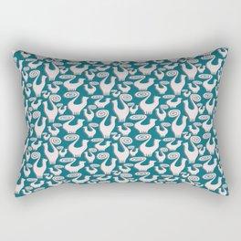 SNOOTY CATS PATTERN TAKE 3 Rectangular Pillow