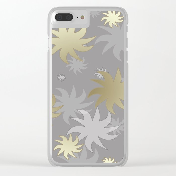CHRISTMAS STARS 03 Clear iPhone Case