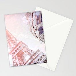 Shimmering Pink Paris Memories Stationery Cards