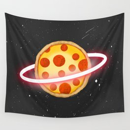 """""""Toy Story - Pizza Planet"""" by Peggy Dean Wall Tapestry"""