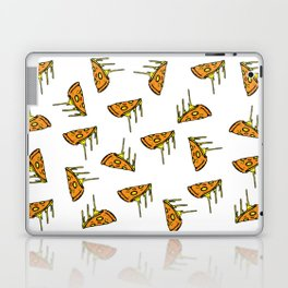 Pepperoni Pizza Dripping Cheese by the Slice Pattern Laptop & iPad Skin