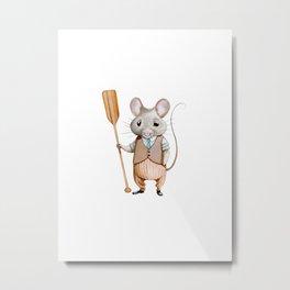 Ratty Metal Print
