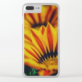 Flowers2 Clear iPhone Case