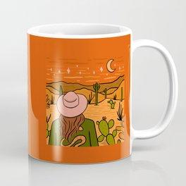 Desert Girl Coffee Mug