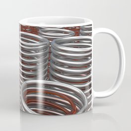 Glass and metal springs and coils Coffee Mug