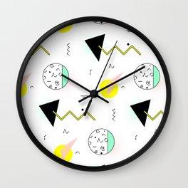 Memphis mint Wall Clock