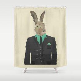 mr o hare Shower Curtain