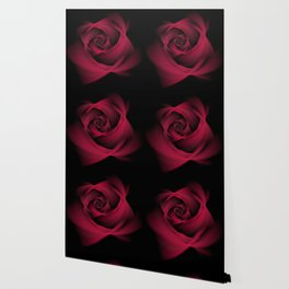 Abstract Rose Burgundy Passion Wallpaper