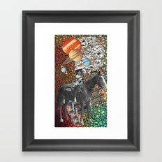 Cowboy and His Guns Framed Art Print