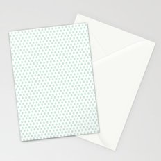 Minty Leaves Stationery Cards