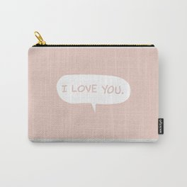 I love you - ROSE Carry-All Pouch