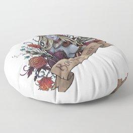 Queen of the Forsaken Floor Pillow