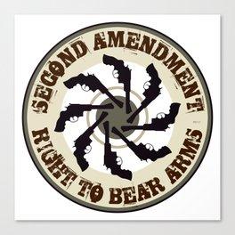 Second Amendment Canvas Print