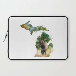 Michigan Elk Laptop Sleeve