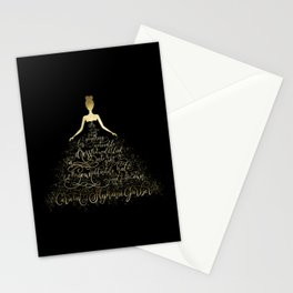 Scarlett's Enchanted Dress. Caraval Stationery Cards