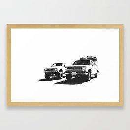 """Zen & Zero"" Framed Art Print"