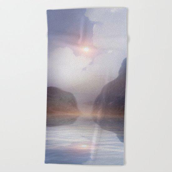 Magic in the Clouds VI Beach Towel