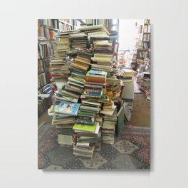 Dusty Book Store Metal Print