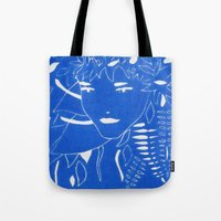 fern Tote Bags featuring FERN by Andrea Jean Clausen - andreajeanco