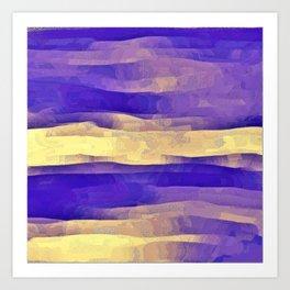 Purple Passion Sky Art Print