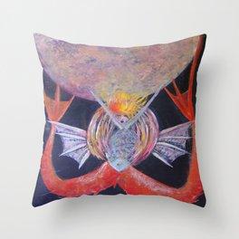M Soles Throw Pillow