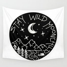 Stay Wild Moonchild Wall Tapestry