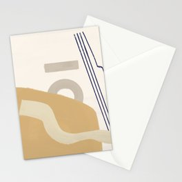 Branded Abstract 10 Stationery Cards