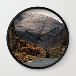 The Old Dog Wall Clock