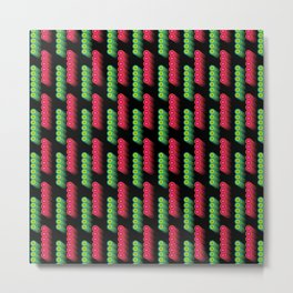 Red and Green Lights Metal Print