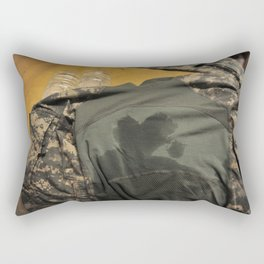 Guarding My Heart Rectangular Pillow