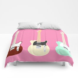 Flat Telecaster 3 Comforters