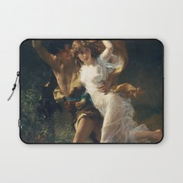 The Storm by Pierre-Auguste Cot 1880, French Laptop Sleeve