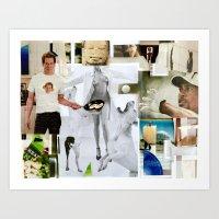 Hunger by hubert neal jr Art Print