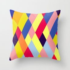Optical Pattern Throw Pillow