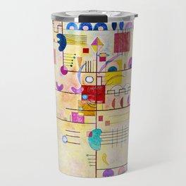 Wassily Kandinsky - Graceful ascent Travel Mug