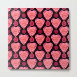 BE IN THE FLOW THIS VALENTINE'S DAY Metal Print
