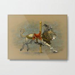 Carousel Chimera Metal Print