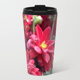 Blooming Red: Imperfectly Perfect Travel Mug