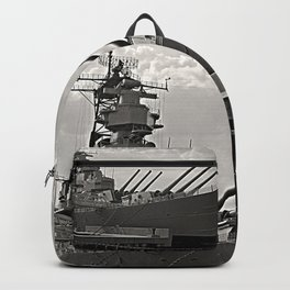 USS Wisconsin (BB-64) Backpack