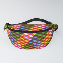 Shifting cubes Fanny Pack