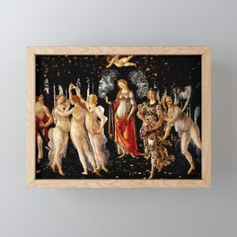 "Sandro Botticelli ""Primavera"" Framed Mini Art Print"