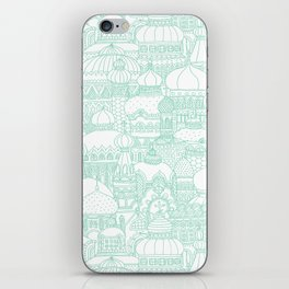 Delightful Domes - Mint iPhone Skin