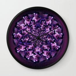 Blossom Two (The Freedom to Love Freely) Wall Clock